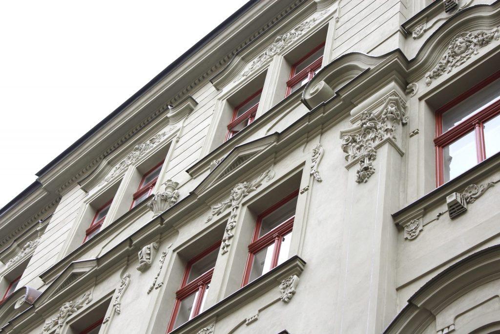 Rekonstrukce fasády J. Plachty 23