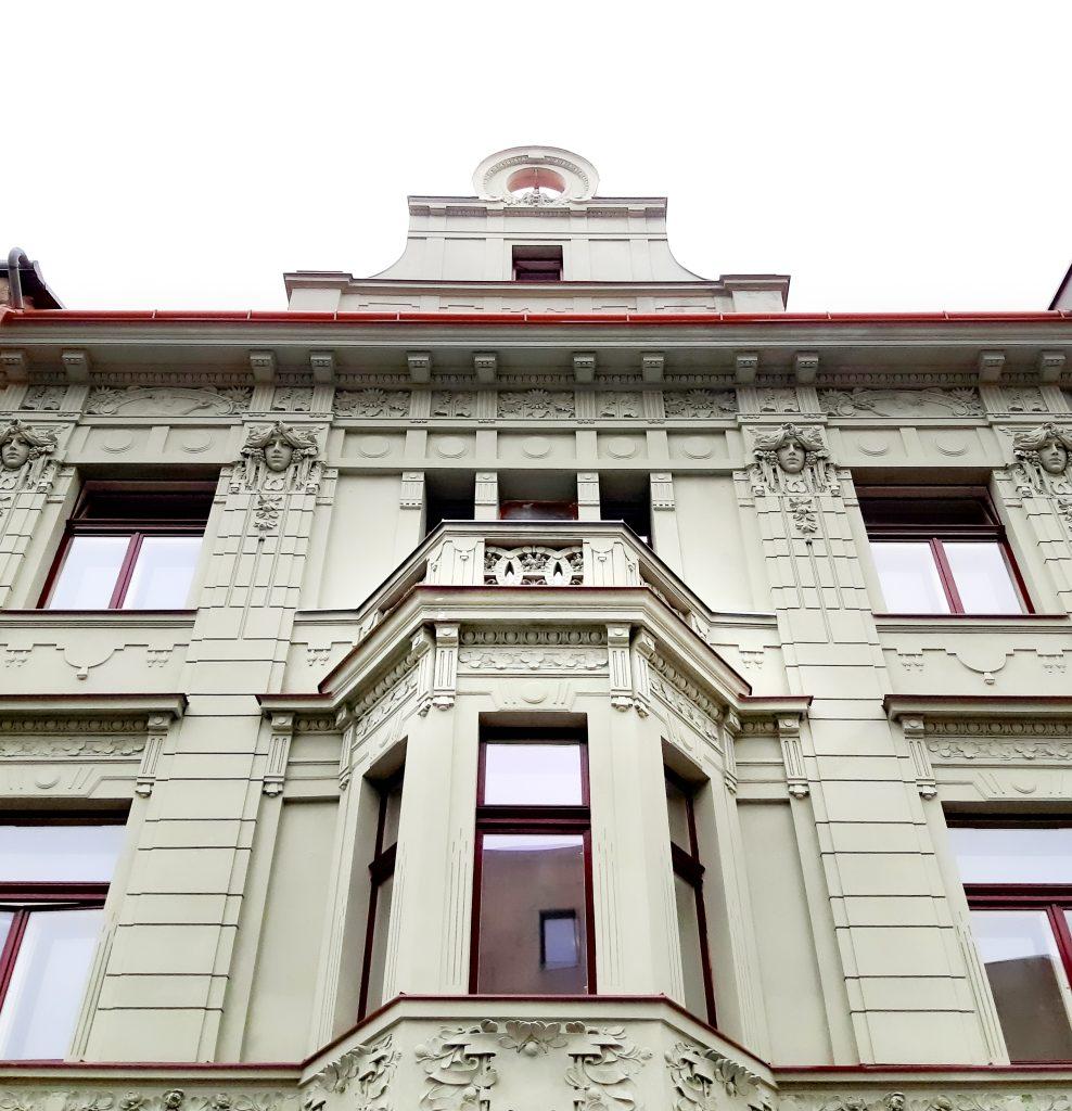Rekonstrukce fasády U Podařilů